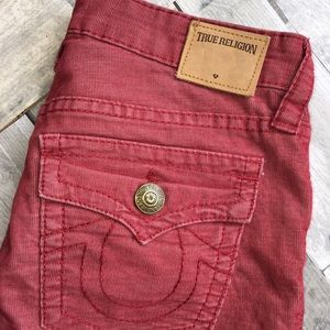 True Religion Super Light Weight Corduroy Pants